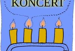 Adventní koncert 30.11. 2016 v evangelickém kostele.