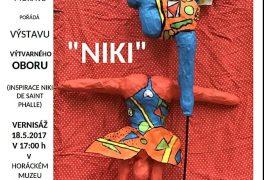 """Výstava výtvarného oboru """"NIKI"""""""