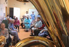 Vystoupení ZUŠ Jana Štursy v nemocnici – poděkování