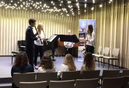 Klarinetové kvarteto na soutěži ZUŠ